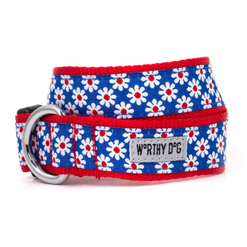 Daisies Pet Dog Collar & Optional Lead