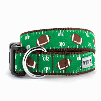 Football Field Pet Dog Collar & Optional Lead