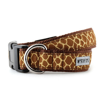 Giraffe Pet Dog Collar & Optional Lead