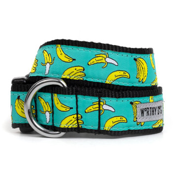 Go Bananas Pet Dog Collar & Optional Lead
