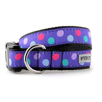 Gumball Purple Pet Dog Collar & Optional Lead