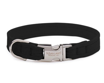 Plain Perfect Fit Pet Dog Collar by Susan Lanci Designs - Over 40 Colors