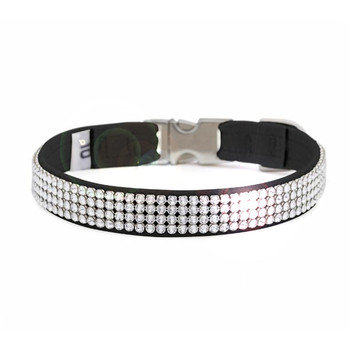 4 Row Giltmore Perfect Fit Pet Dog Collar - Over 40 Colors