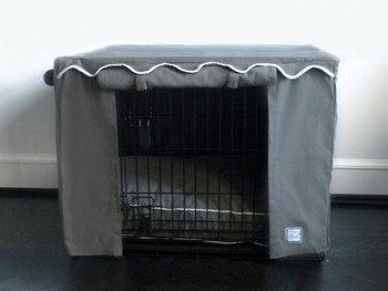 Crate Cover - Slate Grey & Optional Bed