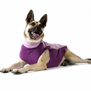 Portland Pullover Dog Wrap - Lilac/Eggplant