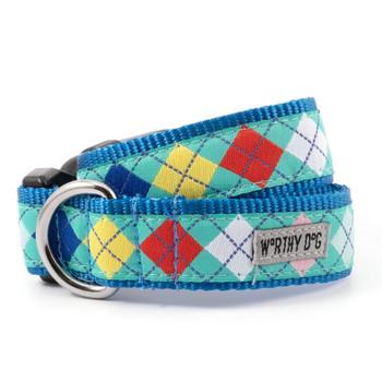 Haberdashery Pet Dog Collar & Optional Lead
