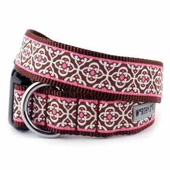 Knightsbridge Pink Pet Dog Collar & Optional Lead