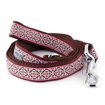 Knightsbridge Pink Pet Dog Collar & Lead