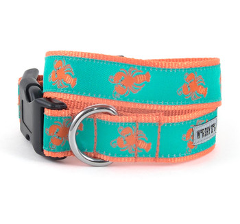 Lobsters Pet Dog & Cat Collar & Optional Lead
