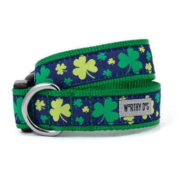 Lucky Pet Dog Collar & Optional Lead