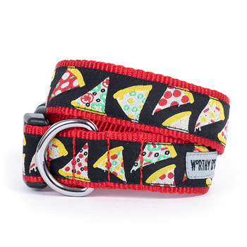 Pizza Pet Dog Collar & Optional Lead