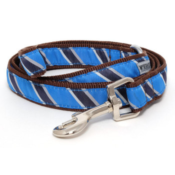 Prep School Blue Pet Dog Collar & Lead