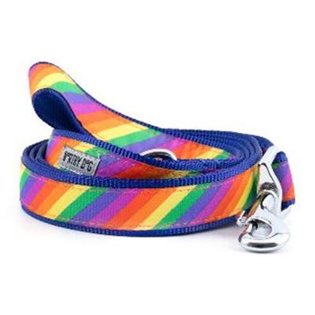 Rainbow Pet Dog Collar & Lead