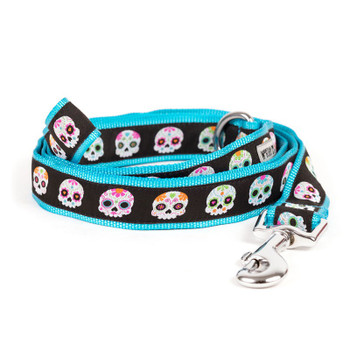 Skeletons Pet Dog Collar & Lead