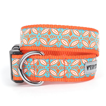 Stamp Print Pet Dog Collar & Optional Lead