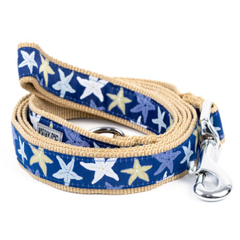 Starfish Pet Dog Collar & Optional Lead