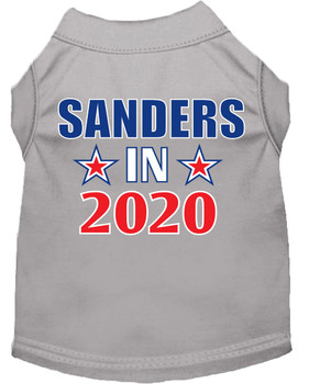 Sanders in 2020 Screen Print Dog Shirt