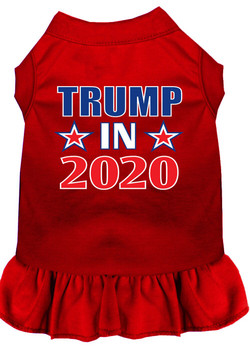 Trump in 2020 Screen Print Dog Dress