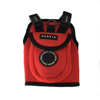 Small Dog Red Backpack by Puppia
