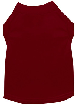 Plain Dog Tank - Maroon