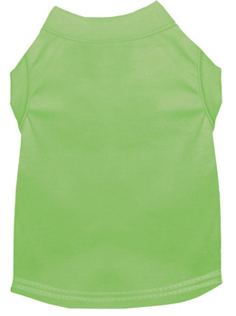 Plain Dog Tank - Lime Green