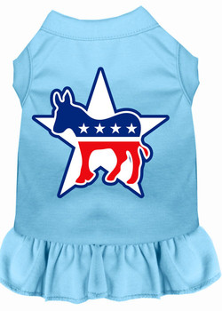 Democrat Screen Print Dog Dress