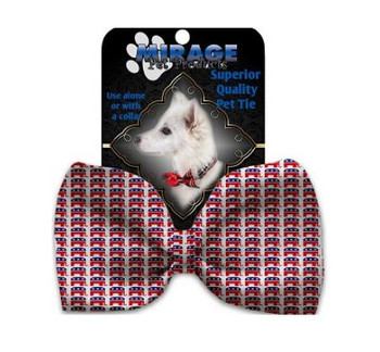 Republican Pet Dog Bow Tie