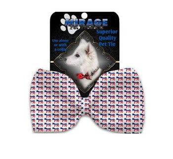 Democrat Pet Dog Bow Tie