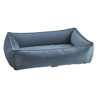 Harbour Blue Microvelvet Urban Lounger Pet Dog Bed