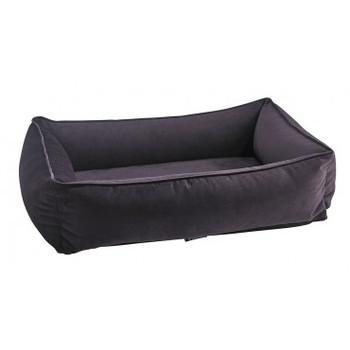 Aubergine Microvelvet Urban Lounger Pet Dog Bed