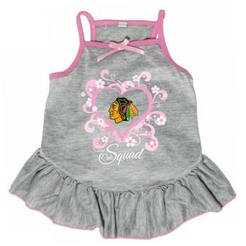"Chicago Blackhawks ""Too Cute Squad"" Pet Dress"
