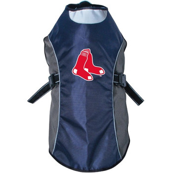 Boston Red Sox Water Resistant Reflective Pet Jacket
