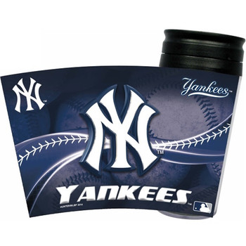 New York Yankees Acrylic Tumbler w/ Lid
