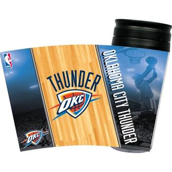 Oklahoma City Thunder Acrylic Tumbler w/ Lid