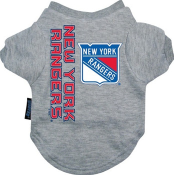 New York Rangers Dog Tee Shirt