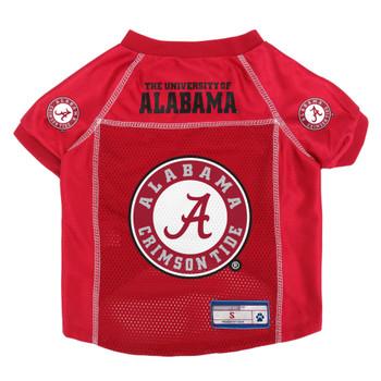 Alabama Crimson Tide Mesh Pet Jersey
