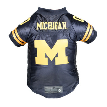 Michigan Wolverines Pet Premium Jersey