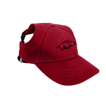 Arkansas Razorbacks Pet Baseball Hat