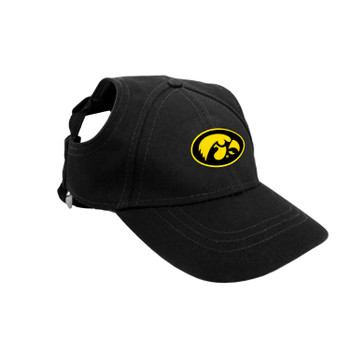 Iowa Hawkeyes Pet Baseball Hat