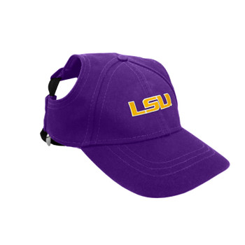 LSU Tigers Pet Baseball Hat