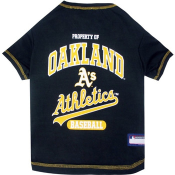 Oakland A's Pet T-Shirt - PFATH4014-0001