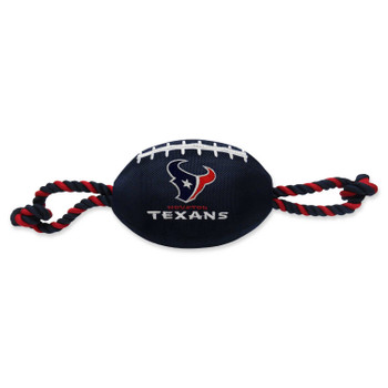 Houston Texans Pet Nylon Football