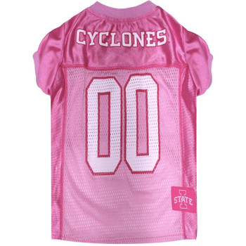 Iowa State Cyclones Pink Pet Jersey