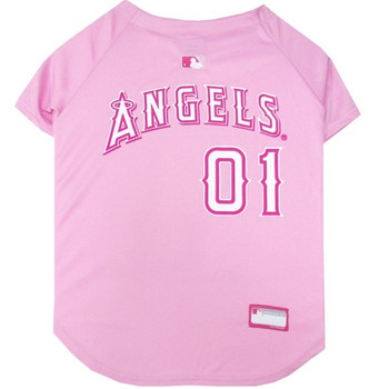 Los Angeles Angels Pink Pet Jersey