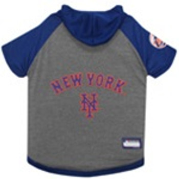 New York Mets Pet Hoodie T-Shirt