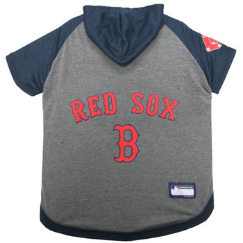 Boston Red Sox Pet Hoodie T-Shirt