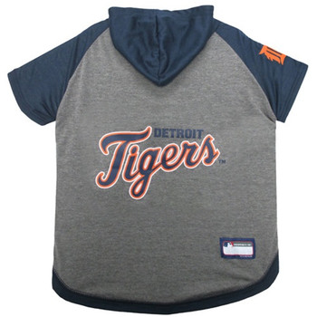 Detroit Tigers Pet Hoodie T-Shirt