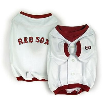 Boston Red Sox Alternate Style Dog Jersey