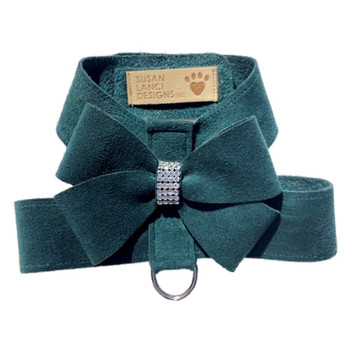 Emerald Nouveau Bow Tinkie Harnesses by Susan Lanci