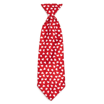 Hearts Pet Dog Neck Tie